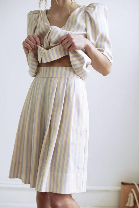 Mr. Larkin freddy shorts - lavender stripe