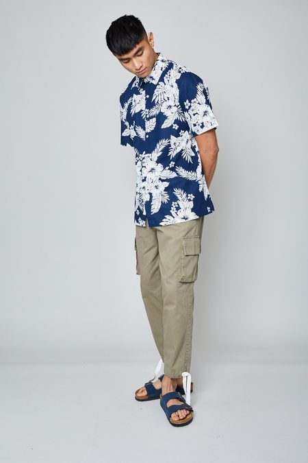 Native Youth THE STEEN SHIRT - Navy