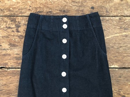 Ilana Kohn Mallin Skirt - Dark Denim