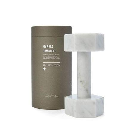 Addition Studios Carrara Marble Dumbbells