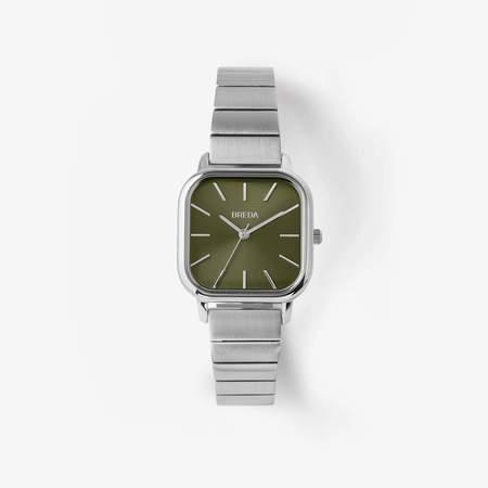 Breda Esther Watch - Silver/Green