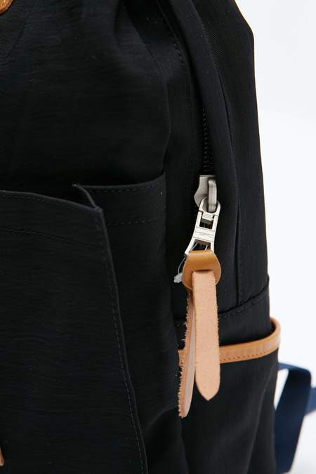Master-Piece Link Backpack - Black Nylon Twill