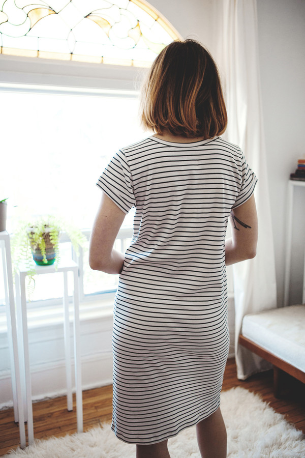 Hutchison Leah Stripe Dress