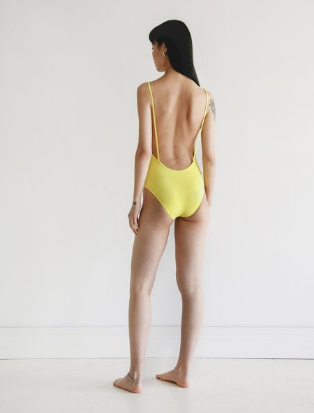 Lido Otto One Piece - Tennis Ball Yellow