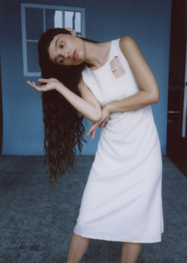 Samantha Pleet Skylight Dress - Ivory