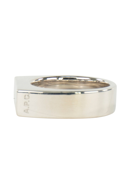 A.P.C. Bague Bastiano Ring - Argent