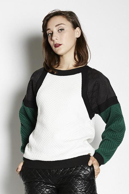 Line & Dot Baldwin Long Sleeve Sweatshirt