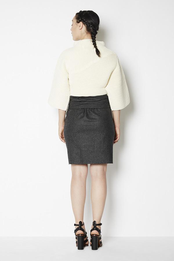 Achro Belted Wrap Mini Skirt