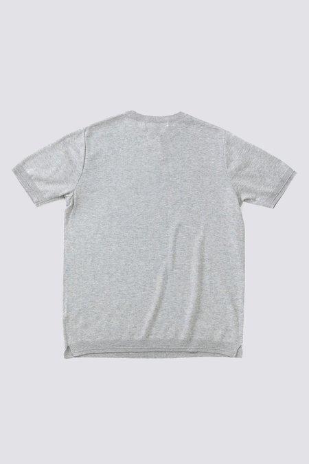FUJITO C/N Knit T-Shirt - Gray