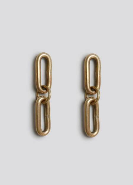 Rachel Comey Ceci Earrings - Brass