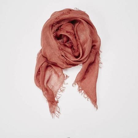 Now or Never Linen Scarf - Saffron