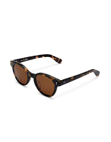 Sun Buddies Akira Sunglasses - Purple Blonde Tortoise