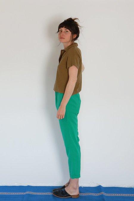 Me & Arrow CUFF PANTS - GREEN