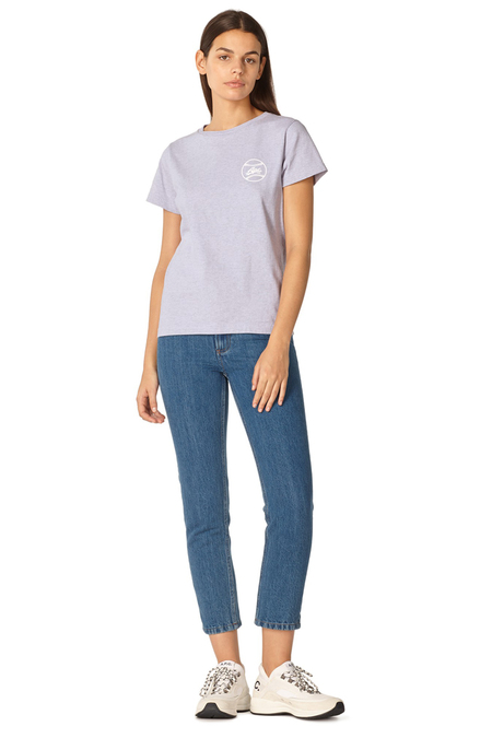 A.P.C. T-shirt Donna Tee - Violet