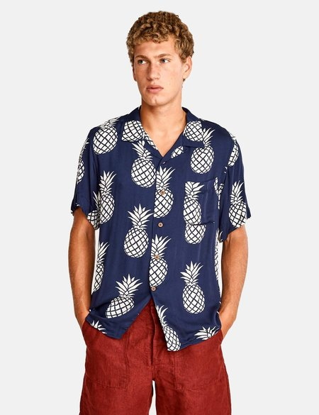 Bellerose Gowai Shirt - Navy Blue