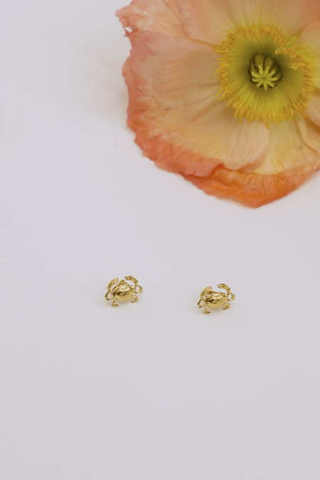 Anne Thomas Crabs Earrings - 18k Gold Filled