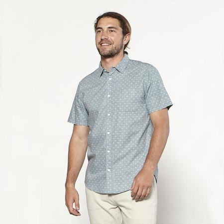 Outerknown S.E.A. Short Sleeve Shirt - Rain Sun Dot