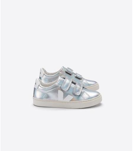 Kids Veja Junior Esplar Small Velcro - Unicorn White