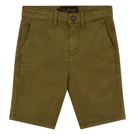 KIDS Finger In The Nose Surfer Bermuda Shorts - Warm Khaki Green