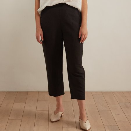 Eve Gravel Phénicie Pants - Black