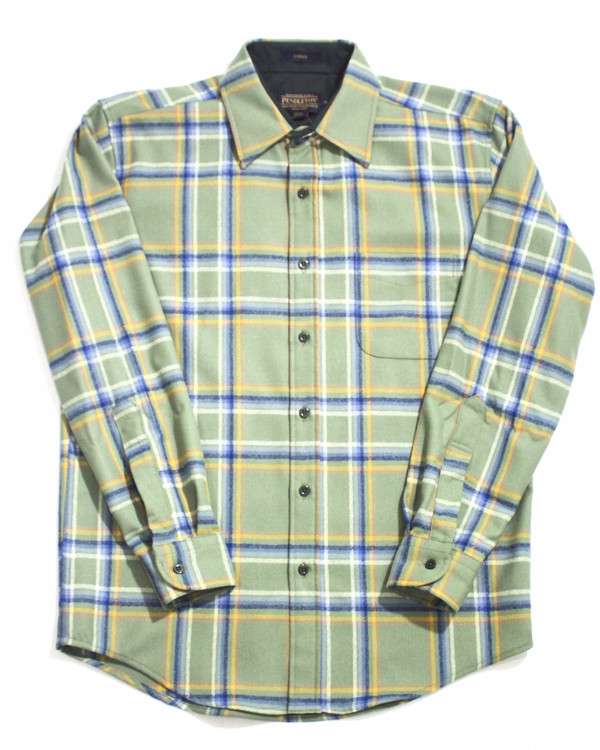 Men's Pendleton Rocky Mountain Plaid Lodge Shirt