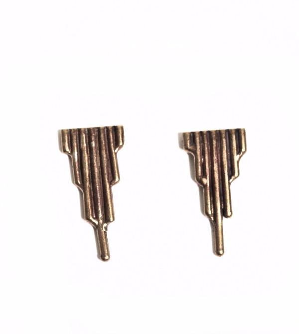 Alchemilla Spire Post Earrings