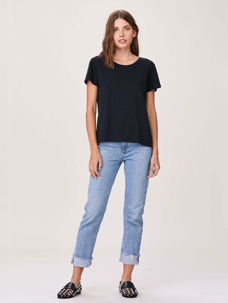 LNA Distressed Tee - Black
