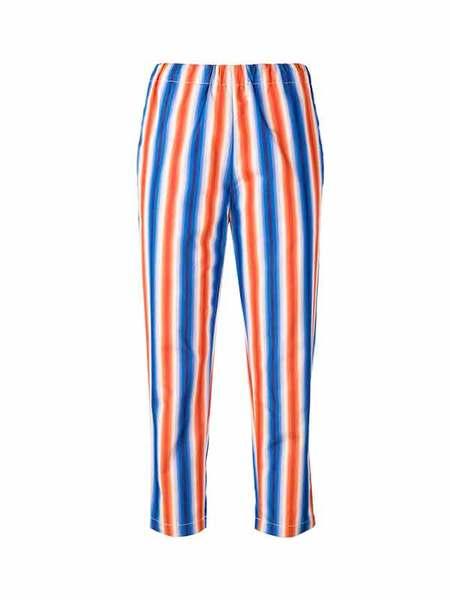 Marni STRIPED TROUSER - Blue/Red Stripe
