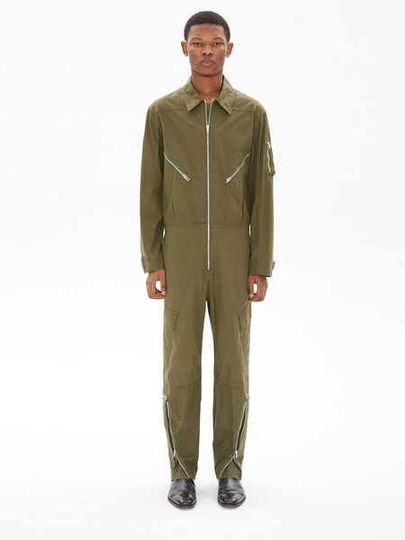 Helmut Lang WASHED AVIATOR SUIT - MOSS