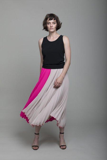 Loyd/Ford Pleated Skirt - Powder/Fuchsia