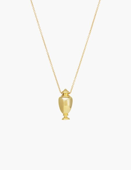 Kathryn Bentley Urn Pendant - 14k yellow gold