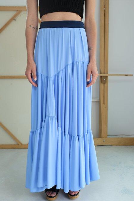 Maryam Nassir Zadeh Pinto Skirt - Sky