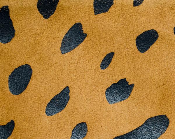 Clare V. Foldover Clutch in Jaguar Print