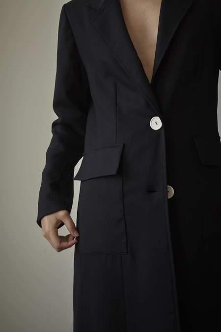 Mina Hailstone Coat - Black