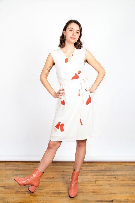 Eve Gravel Flora Dress