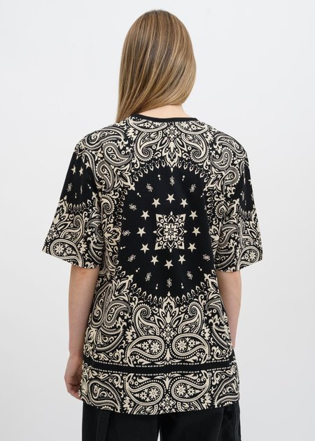 Études Studio Unity Bandana T-Shirt - Black