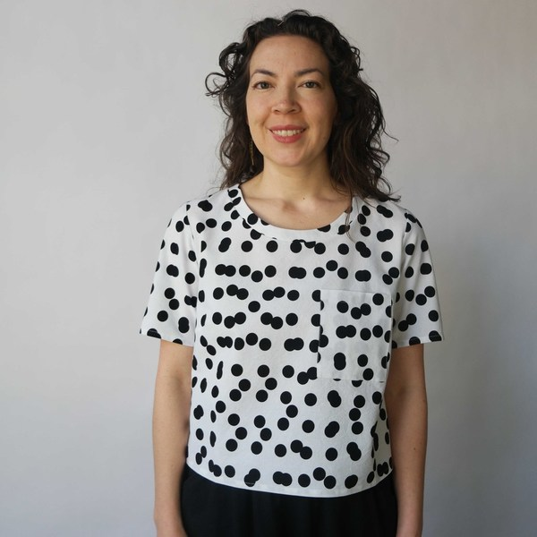 Dusen Dusen Pocket Tee Double Dot