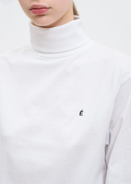 Études Studio Lakers Long Sleeve TURTLENECK - White