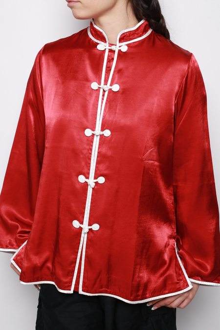 Visvim Linda Shirt - Red