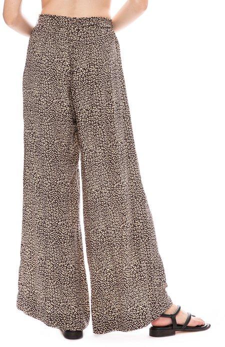 BEACHGOLD Hepburn Pant - SLATE LEOPARD