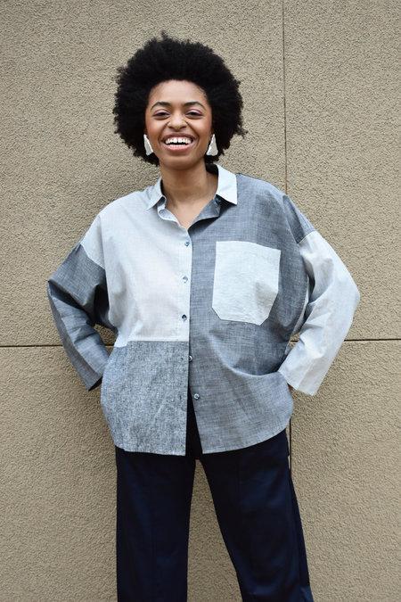 Study NY Shirt 1.3 - Multi Grey