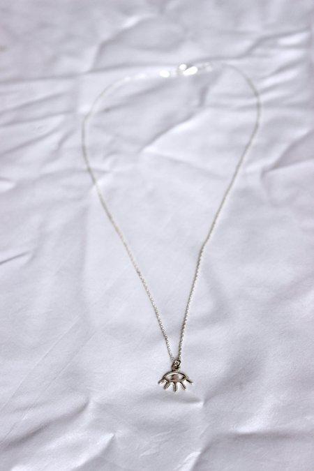 Amanda Hunt Eye Necklace - Sterling silver