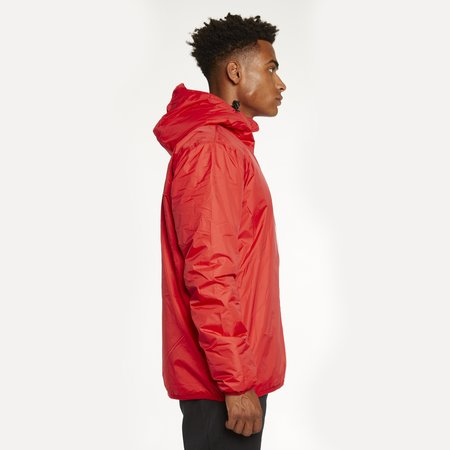 K-Way Le Vrai 3.0 Claude Orsetto Full Zip Padded Jacket - Red