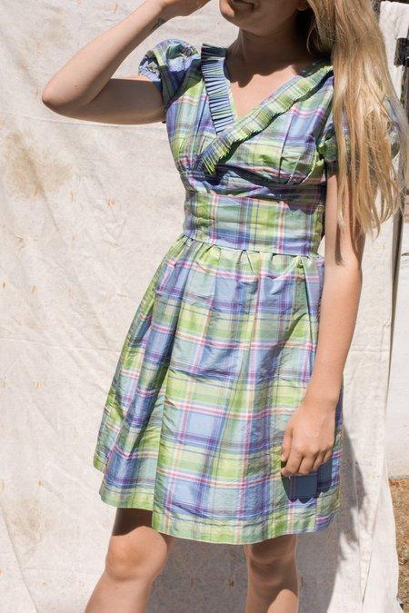 Wolf & Gypsy Vintage Marni Tartan Dress