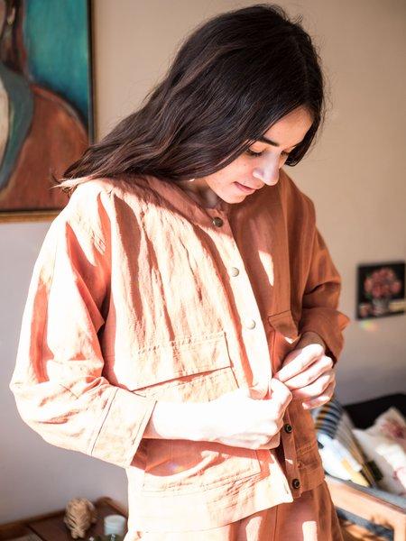Eve Gravel Agora Jacket - Terracotta