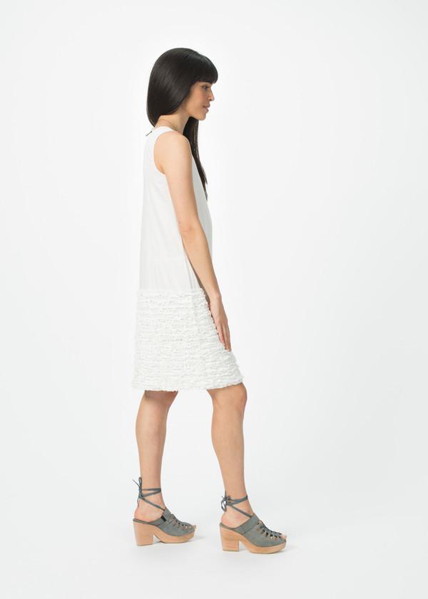 Dosa Simple Ruffle Dress