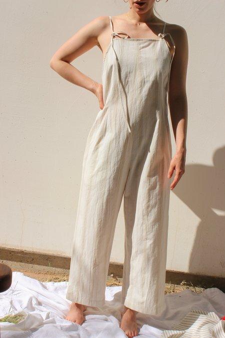 Kordal faye jumpsuit - cream stripe