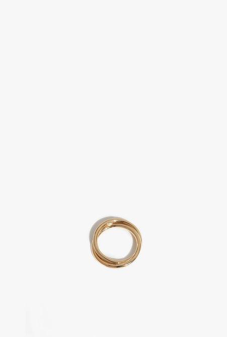 Wolf Circus Celine Ring - 14k gold vermeil