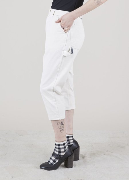 Atelier & Repairs Residency Painter Pant with Gusset - White