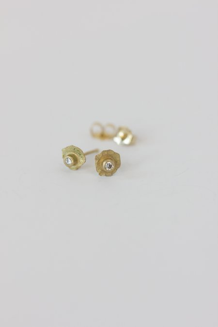 Margery Hirschey Tiny Diamond Stud - Gold